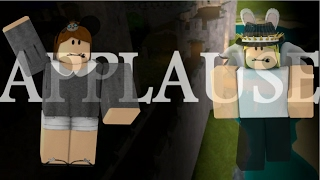 Applause Roblox Music Video - COLLAB WITH GHOSTLYMANGO