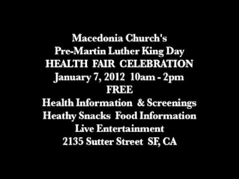 Macedonia's Free Health Fair  1-7-12 .mp4