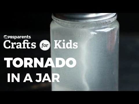 Tornado in a Jar | PBS Parents | Crafts for Kids