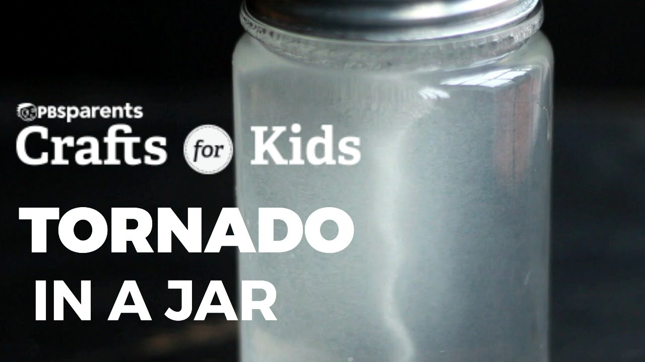 Tornado In A Jar Pbs Parents Crafts For Kids Youtube