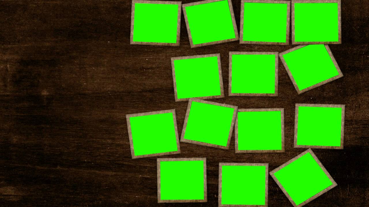 image frames position in green screen free stock footage