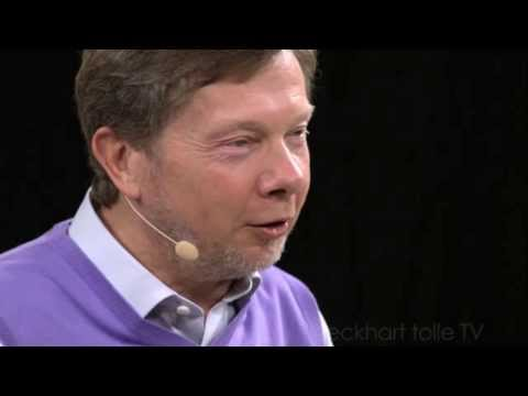 Eckhart Tolle author of THE POWER OF NOW explains the divine purpose of the Universe