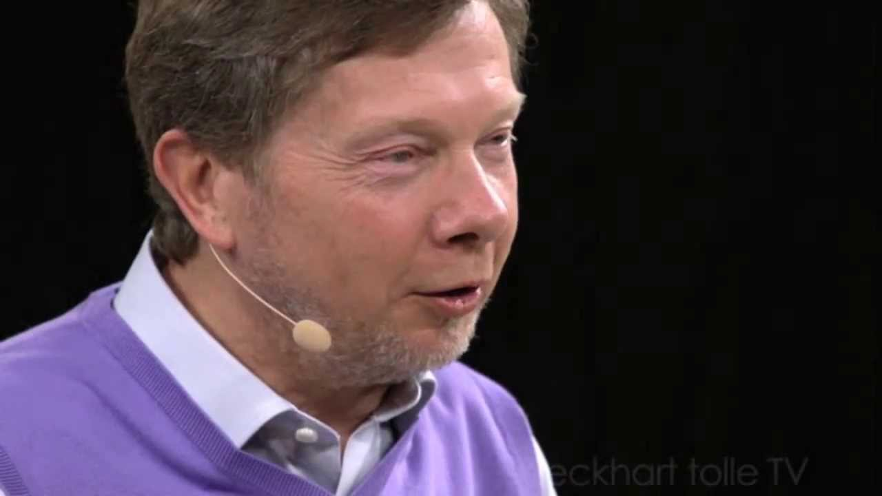 Eckhart Tolle author of THE POWER OF NOW explains the divine ...