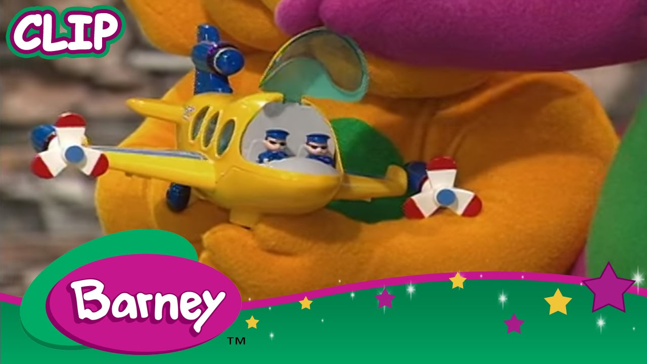 Barney Airplanes And Boats Youtube