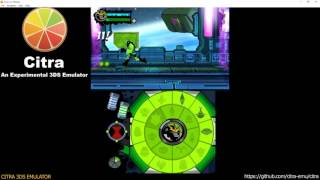 Citra 3DS Emulator - Ben 10: Omniverse 2 Ingame! (cro/fragment lighting/audio) wip