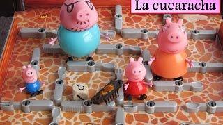 ¡UNA CUCARACHA EN CASA DE PEPPA PIG! Pigstoria con el juguete de La Cucaracha de Ravensburger