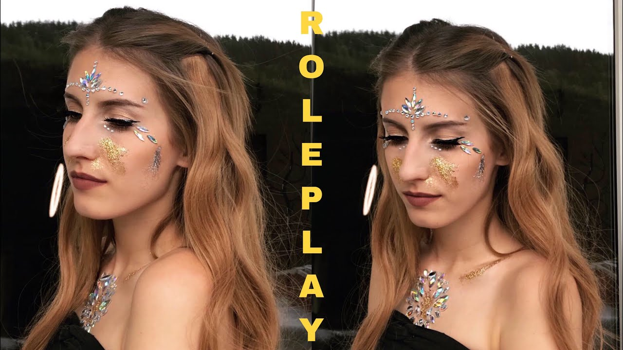 ASMR | FESTIVAL MAKE UP Roleplay | Personal Attention ⚡️