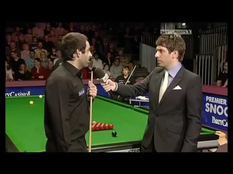 Ronnie O'sullivan takes the micky out of...