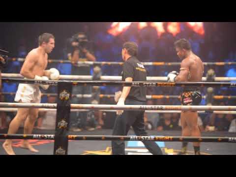 Buakaw Benchamek VS Sergei Kuliaba (All Star Fight 2) Round 3