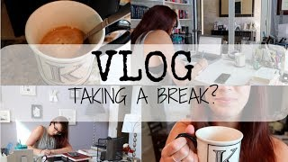 VLOG | Author Day In The Life | Taking a Break?