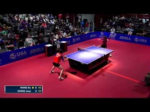 2015 US Open - Women's Singles Quarterfinal - Wang Bo vs. Jiaqi Zheng