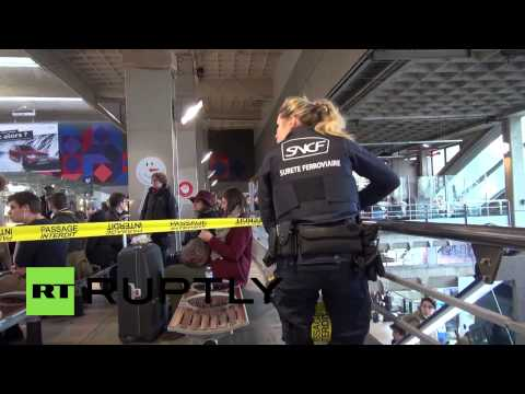 France: Paris train station on military lockdown after bomb scare