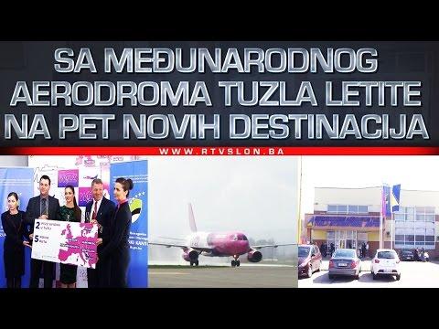 Sa Međunarodnog aerodroma Tuzla letite na pet novih destinacija - 27.03.2017.