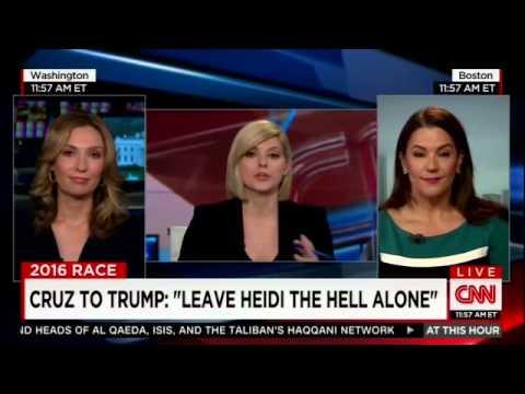 Adriana Cohen discussing Donald Trump and Ted Cruz
