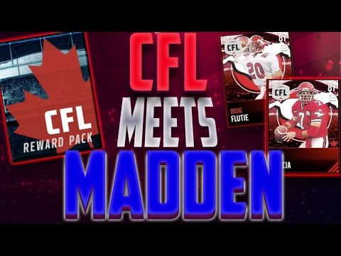 Madden Mobile 17 CFL Legends! The CFL Meets Madden! EA