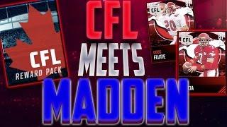 Madden Mobile 17 CFL Legends! The CFL Meets Madden! EA's First CFL Players Doug Flutie, Warren Moon!