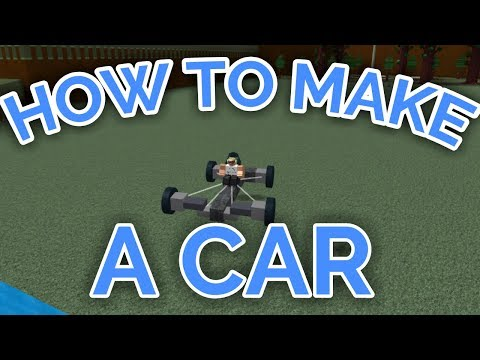 HOW TO MAKE A CAR THAT TURNS!   Build A Boat For Treasure   ROBLOX