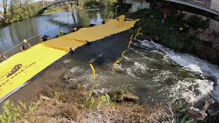 Aquatic Works with Water-Gate Barrier | Temporary Cofferdam