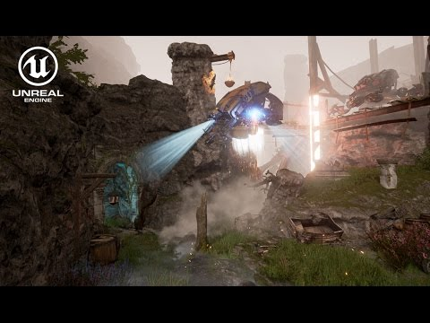 speed-level-art---horizon-zero-dawn-themed-scene---unreal-engine-4