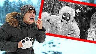 Мы расставили камеры в лесу чтобы следить за Монстрами и узнали тайну Прыгуна