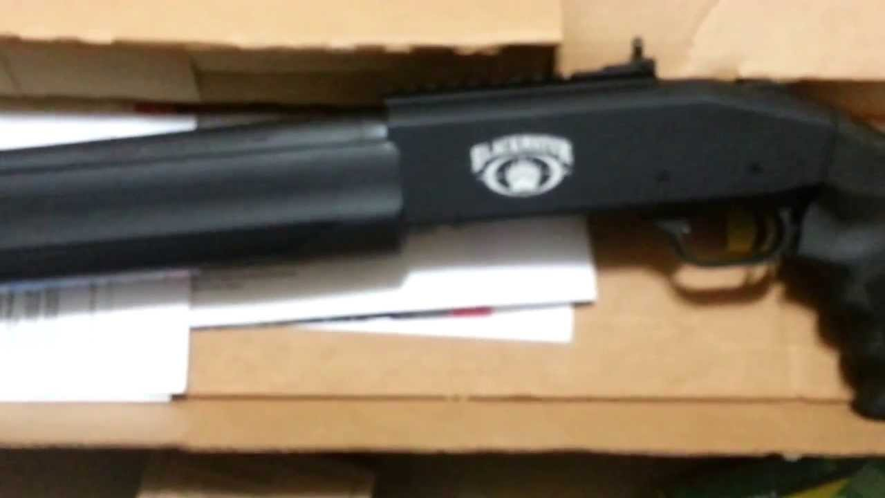 Mossberg Spx 930 Tactical Semi Auto Blackwater Unboxing Youtube