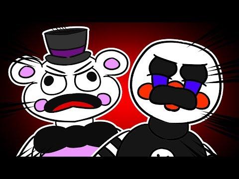 Puppet and Freddy Break Under Pressure - (Minecraft FNAF Roleplay Redux)