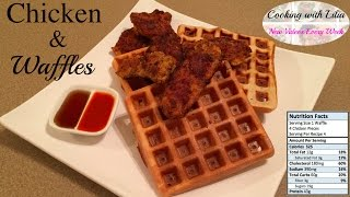 Chicken and Waffles Recipe - How to make Chicken & Waffle - The Perfect Chicken and Waffle Recipe