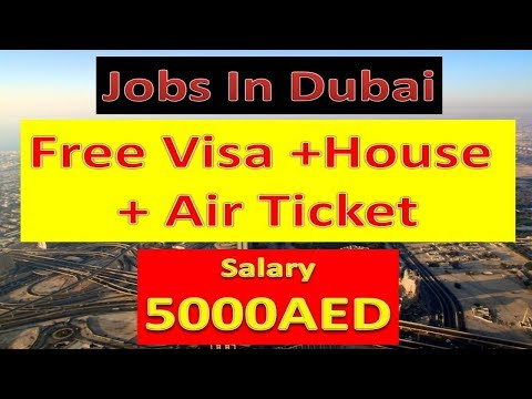 Jobs In Dubai With Free Visa | Free Accomodation | Free Air Ticket | Hindi Urdu |