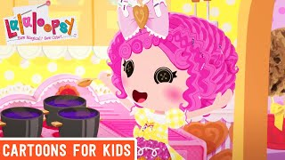 Lalaloopsy - Manic Cooking | Lalaloopsy Webisode Compilation | Cartoons for Kids