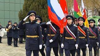 В Краснодаре торжественно дали старт месяцу патриотизма: рассказываем с места событий