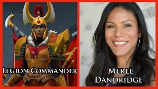 Characters and Voice Actors - Dota 2 (Updated) thumbnail