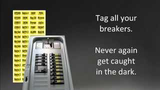 Video Breaker Box Labels — Organize Your Circuits with our Breaker Box Labels download MP3, 3GP, MP4, WEBM, AVI, FLV Juli 2018