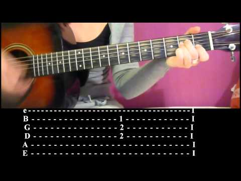 How to play Thinking of you on acoustic guitar+tabs  Katy Perry HD