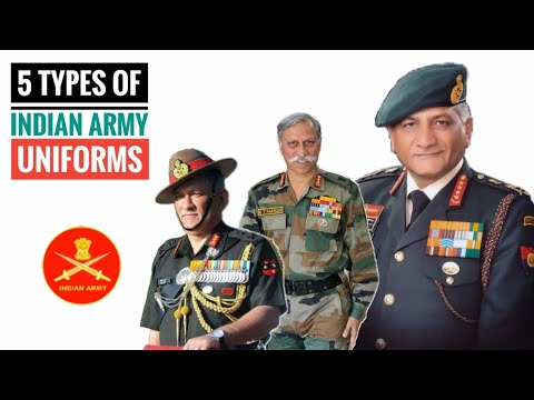 5 Uniforms Of The Indian Army That You Have To Earn - Types Of Indian Army Uniforms (Hindi)