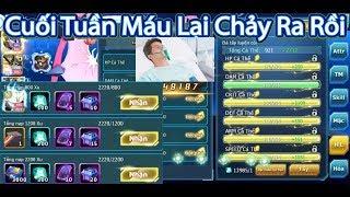 Hiến Máu 400k ATM Đớp Event Cực Ngon Sau 1 Đêm Đi Bão,Nâng Max Cho Ultra Moon