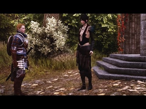 Alistair meets Morrigan (all versions)   Dragon Age: Inquisition