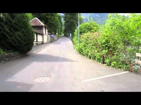 Switzerland, Interlaken - Lauterbrunnen, Scenic cycle route