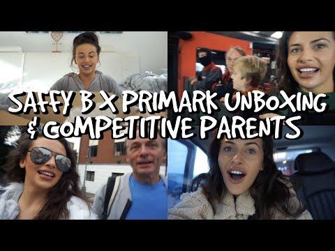 SAFFY B X PRIMARK, COMPETITIVE PARENTS & VEGAN DINNER