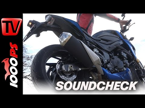 1000PS Soundcheck: Suzuki GSX-S750 2017