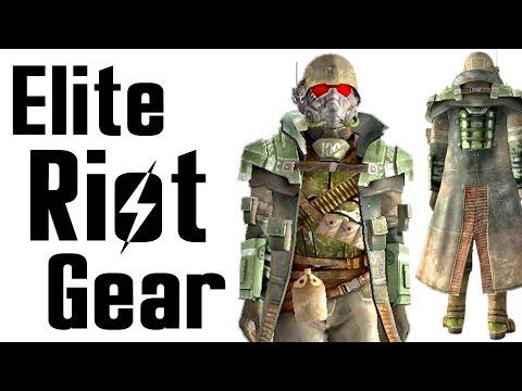 Fallout New Vegas: Elite Riot Gear Armor Location