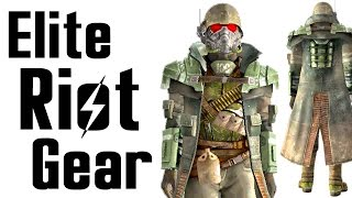 Fallout New Vegas Elite Riot Gear Armor Location