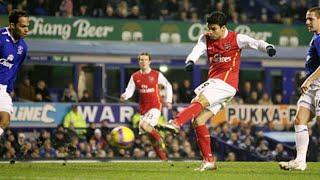 Everton1-4 Arsenal (29th December 2007) EXTENDED HIGHLIGHTS