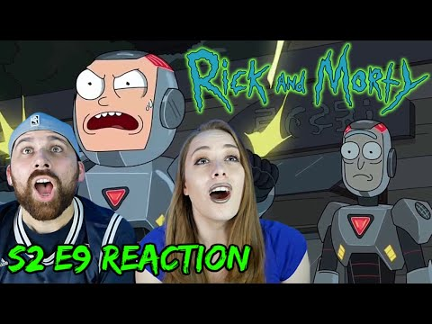 """Rick And Morty S2 E9 """"Look Who's Purging Now"""" - REACTIONS ON THE ROCKS!"""
