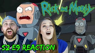 "Rick and Morty S2 E9 ""Look Who's Purging Now"" - REACTIONS ON THE ROCKS!"
