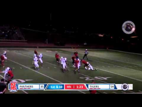 Patterson #1 Jamal Broussard laterals to #3 Michael Lawson, TD punt return