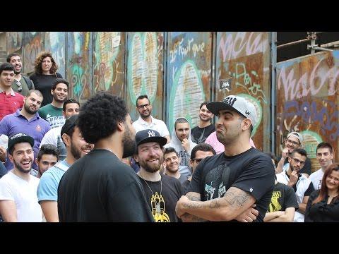 The Arena - Dizaster vs Edd Abbas (First Official Arabic Rap Battle) #MobaRap