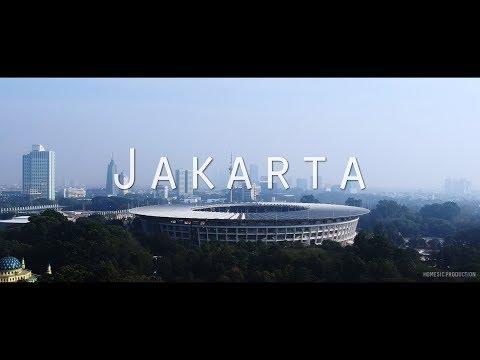 Jakarta Part I (Nikon D5300 & DJI Spark Cinematic)