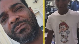 "Jim Jones ""Clowns His Son For Picking Out Rich Kids Clothes While Shopping"""