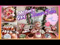 Mother's Day Party Dessert Table Buffet
