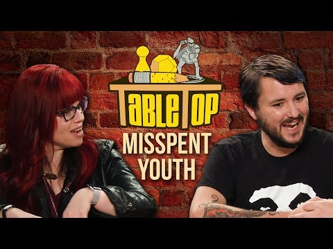 TableTop: Wil Wheaton Plays Misspent Youth w/ Amy Dallen, Kelly Sue DeConnick, & Matt Fraction pt. 1